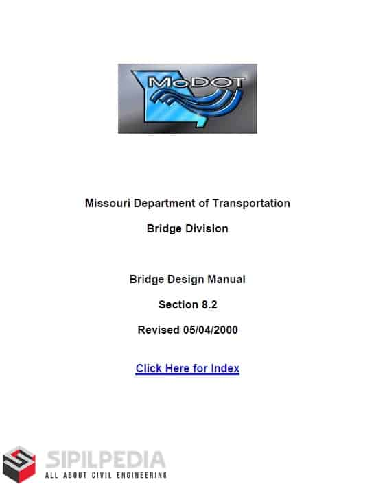 Bridge design manual