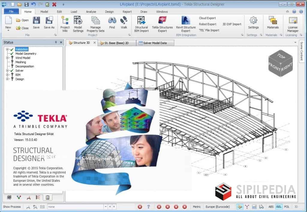 Tekla structural designer 2018 tutorial Pdf Portal frame