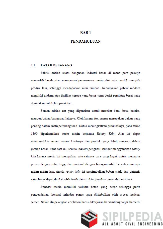 Proposal Skripsi Pondasi Sipilpedia