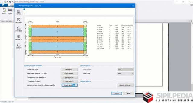 Tekla Tedds 2018 – Wind Load Calculation Example | Sipilpedia
