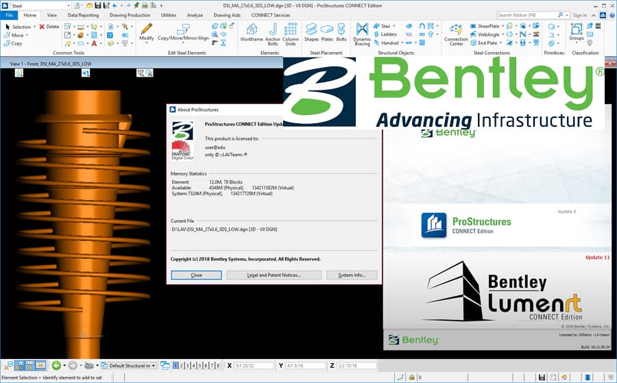 Bentley Prostructures Connect Edition Update 2 Version 10