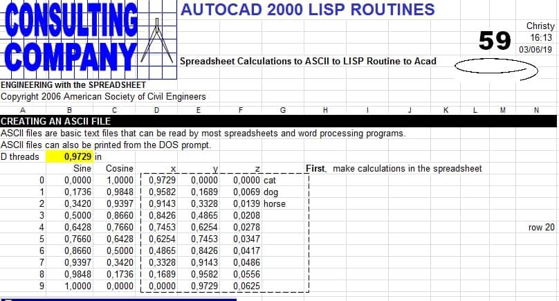 AUTOCAD 2000 LISP ROUTINES | Sipilpedia