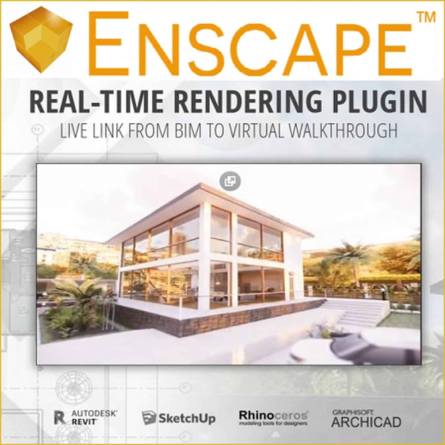 ENSCAPE 3D 2 3 2 703 for REVIT/SKETCHUP/RHINO/ARCHICAD